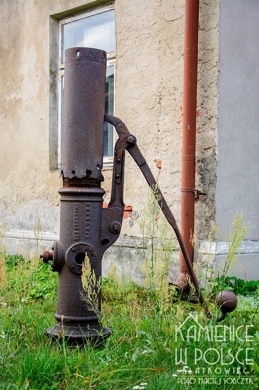 Skierniewice: pompa z firmy Troetzer & C. Varsovie