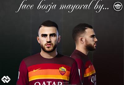 PES 2021 Faces Borja Mayoral by Ali Fakharan