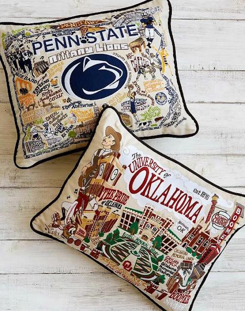 customizable college cushions