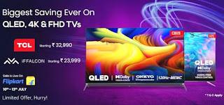 tcl-&-iffalcon-tv-offers-on-flipkart-electronics-sale