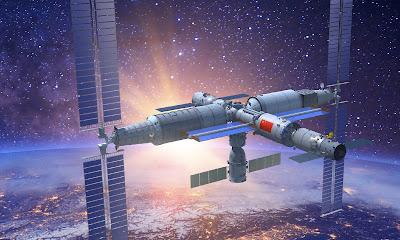stasiun ruang angkasa, stasiun ruang angkasa tiongkok, teknologi antariksa tiongkok, teknologi antariksa cina, tiongkok bangun stasiun ruang angkasa, teknologi antariksa, luar angkasa, tiongkok, cina, teknologi canggih