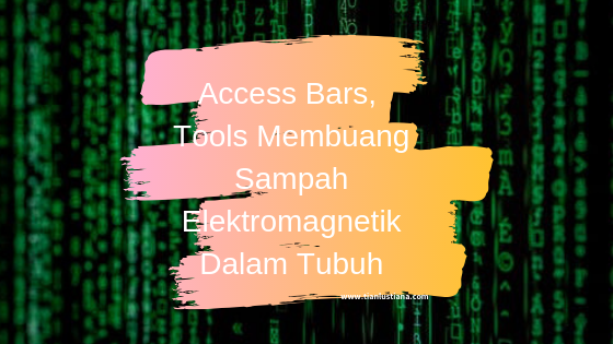 Access Bars, Tools Membuang Sampah Elektromagnetik Dalam Tubuh