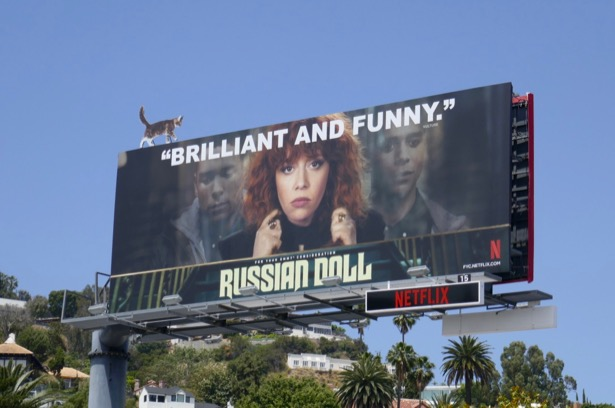Russian Doll 2019 Emmy FYC billboard
