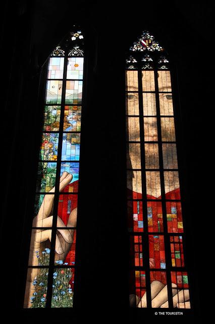 Cathédral Notre-Dame de Strasbourg. Window