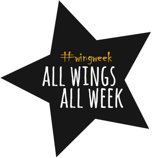 All Wings, All Week for #wingweek at allroadsleadtothe.kitchen