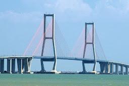 Daftar 5 jembatan terpanjang di Indonesia
