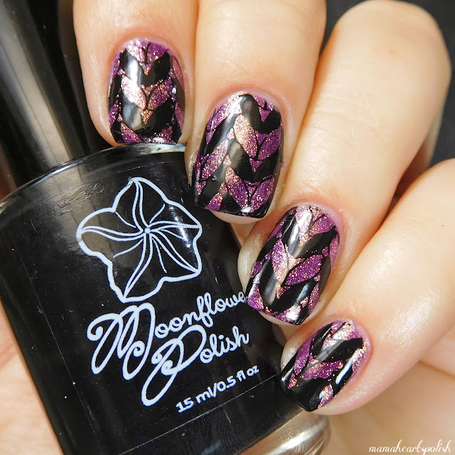 orly-oui-moonflower-polish-noche-dixie-plates-dp02-nail-stamping-art-1