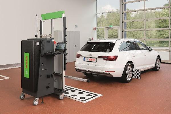 Equipamento DAS 3000 da Bosch: rápido e eficiente