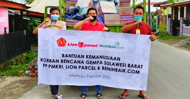 Caritas KAMS Apresiasi Perhatian PP PMKRI terhadap Bencana Alam Sulawesi Barat