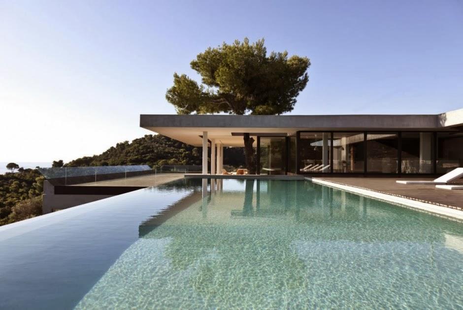 5 maisons d 39 architecte qui font r ver le blog de loftboutik. Black Bedroom Furniture Sets. Home Design Ideas
