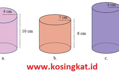 Kunci Jawaban Matematika Kelas 9 Halaman 280 - 283 Latihan 5.1