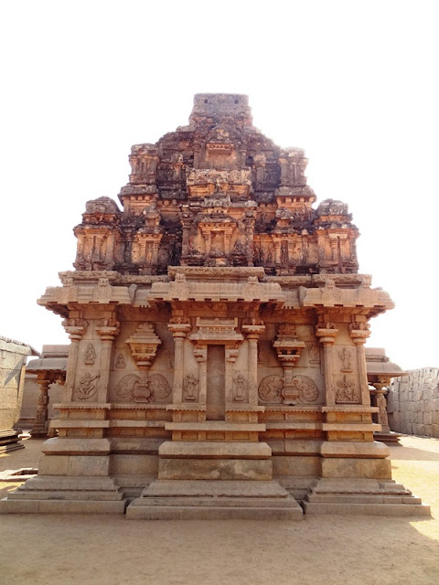 Lakshmi - Narasimha shrine of Hazara Rama temple complex