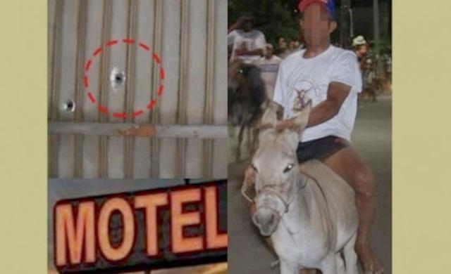 Jovem queria entrar no motel com uma jumenta e como não deixaram meteu bala