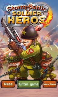 Download Game Storm Battle:Soldier Heroes – Money Mod Apk