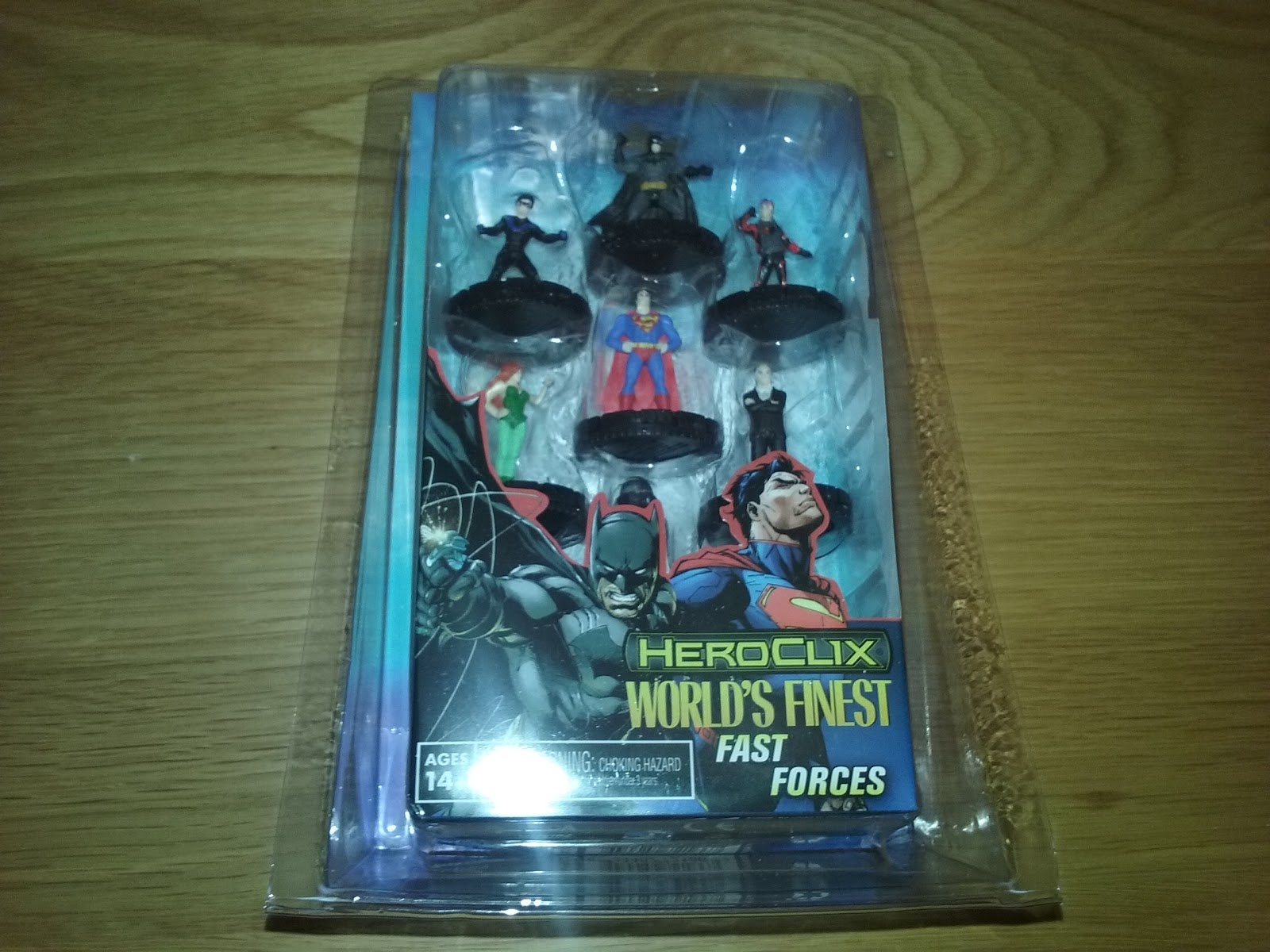 DC Heroclix Worlds Finest Fast Forces Board Game