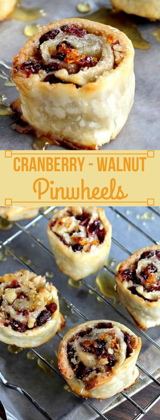 Cranberry and Walnut Pinwheels #healthydiet #whole30 #paleo #keto #cranberry
