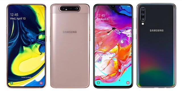Samsung-galaxy-a70-vs-galaxy-a80-compear