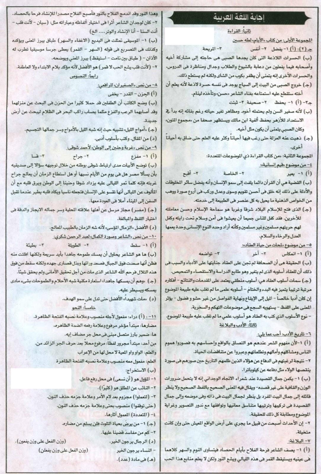 إمتحان السودان 2016 في لغة عربية