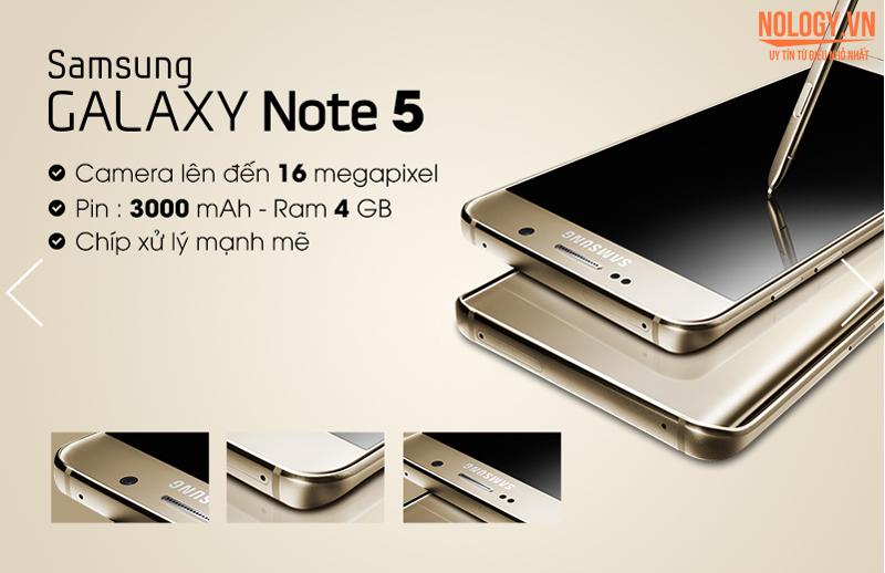 Địa chỉ bán Samsung Galaxy Note 5 chính hãng