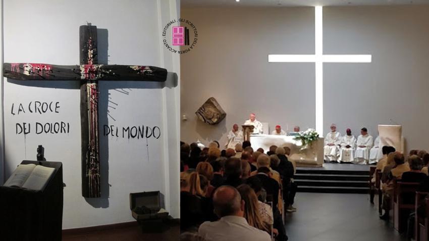 La croce dei dolori del mondo e la cappella del Sermig