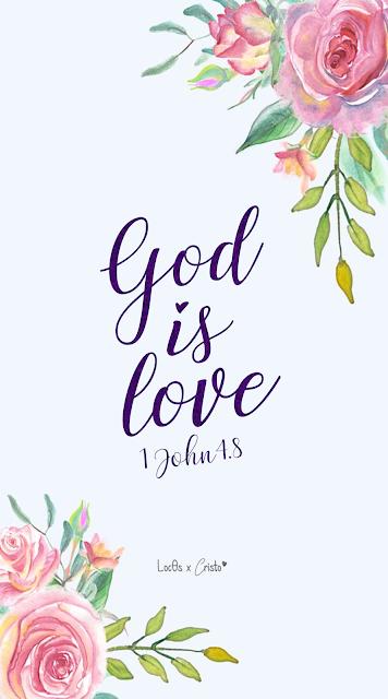 Imágenes Cristianas Bonitas God Is Love Christian