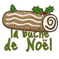 apprendre français avec la recette et l'histoire de la bûche de Noël