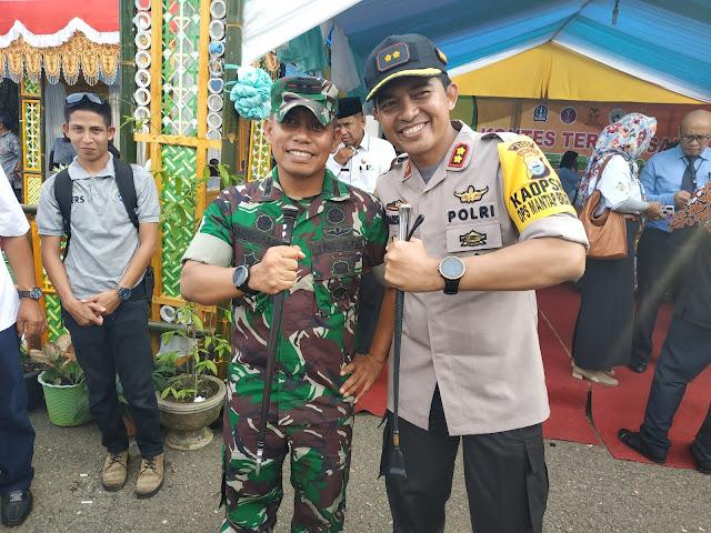 Kapolres dan Dandim 1407/Bone Tegaskan, TNI-POLRI Jamin Keamanan dan Kenyamanan Beribadah di Bulan Ramadhan