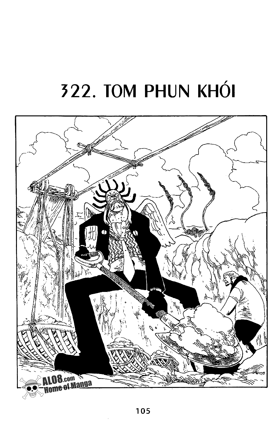 One Piece Chap 322