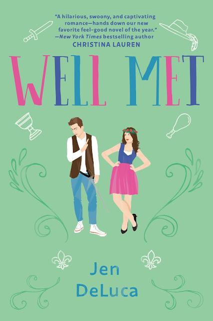 Well Met by Jen DeLuca Book Cover Audiobook