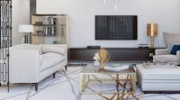Nice color idea to make contemporary room