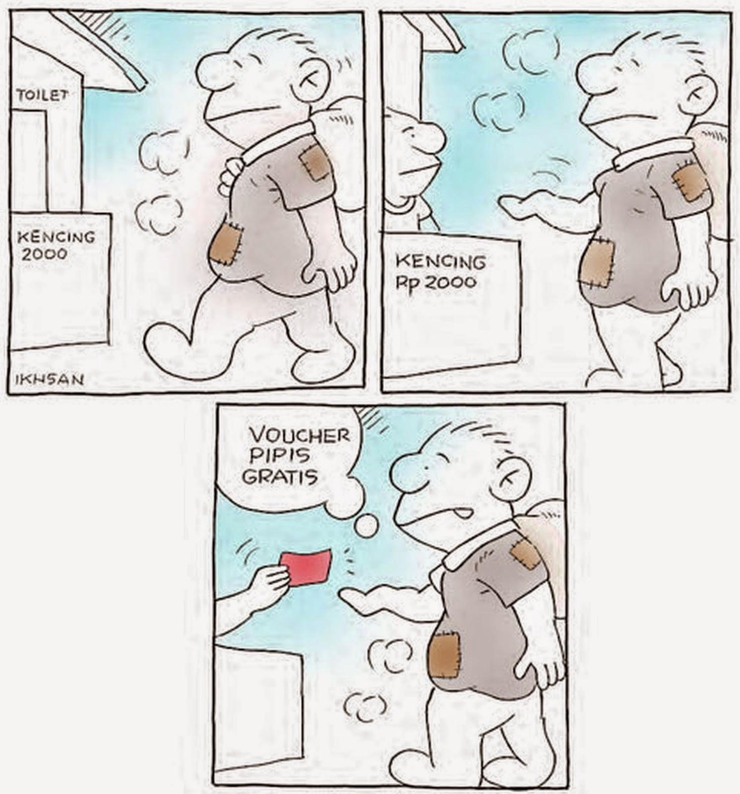 KARTUN LUCU VOUCHER PIPIS GRATIS Gambar Kartun Lucu Dan
