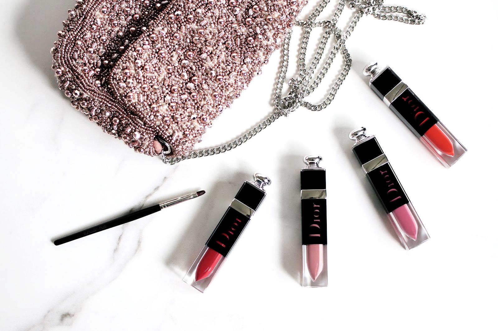 dior addict laquer plump vernis rouge à lèvres avis test swatch swatches