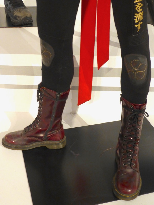 Suicide Squad Katana costume boots
