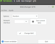 Is There Any Technique or  tools Using Which I can change my mac address?