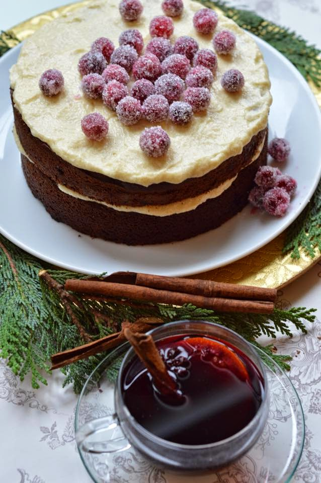 Alternative Christmas Cake.Anniething For Food Chocolate Gingerbread An Non Fruit