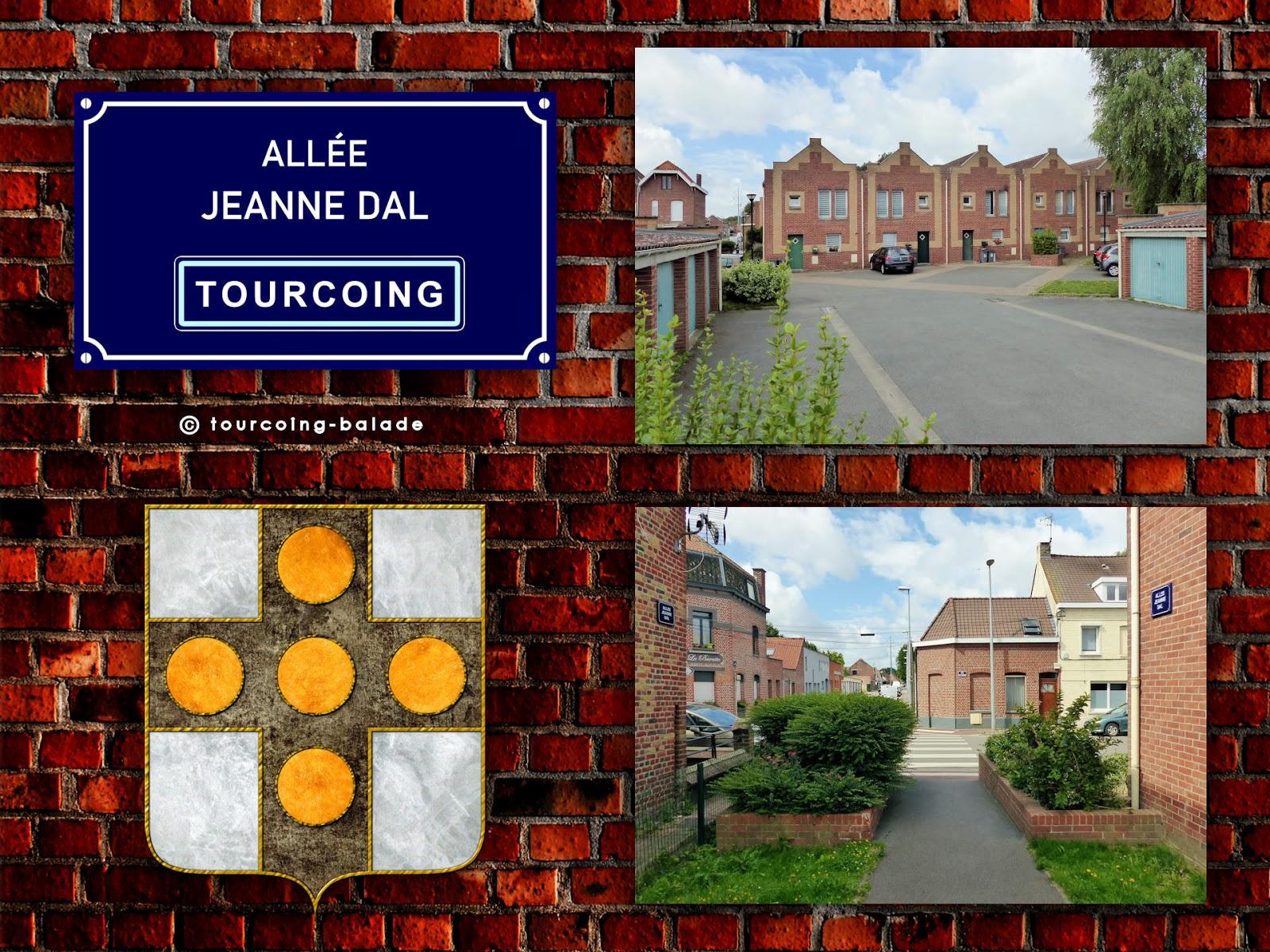 Répertoire Rues Tourcoing - Allée DAL