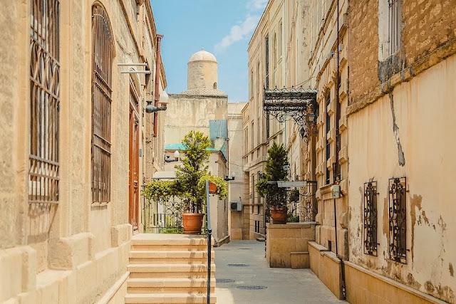 stile architettonico arabo-azerbaijan