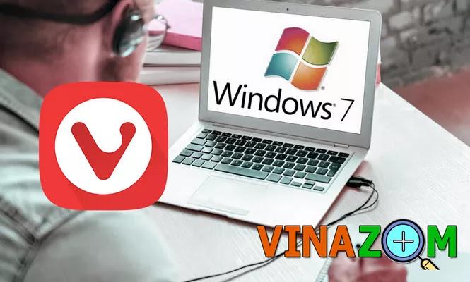 Trình duyệt Vivaldi cho Win 7