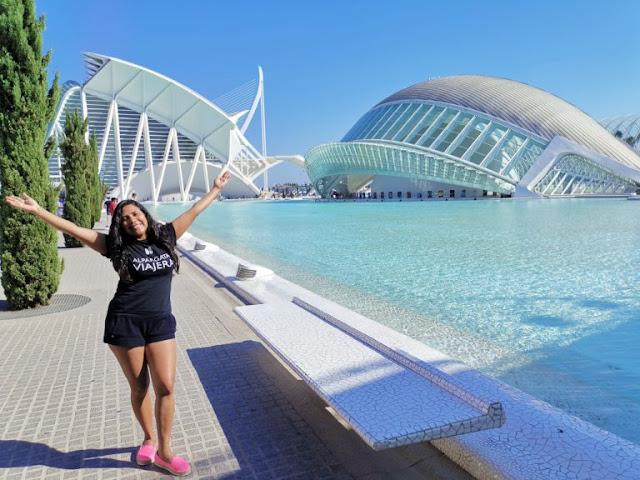 EUROPA:  Valencia La Ciutat De Les Arts I Les Ciéncies por Kaiser Solano de Alpargata Viajera.