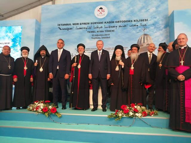 Diputado Patriarca de Constantinopla se reúne con Erdogan