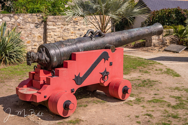 canon de 24 du Soleil Royal - Croisic, après restauration [état 2017]