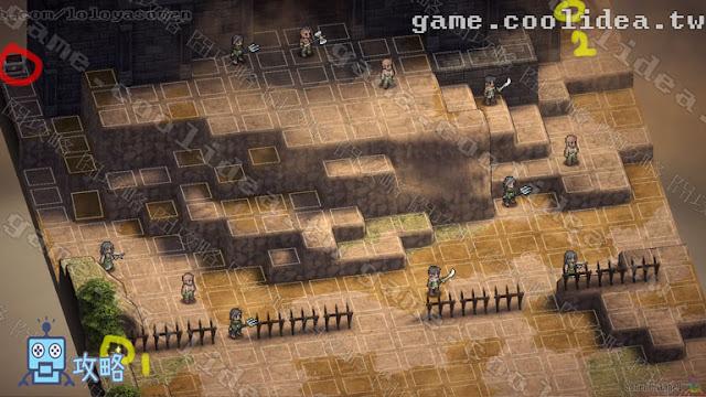 Mercenaries Blaze 傭兵烈焰 黎明雙龍 攻略 第10章 不變的信念 / 変わらぬ思い 戰場資訊