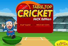 Tabletop-Cricket