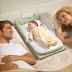 Giường nằm chung sơ sinh Baby Delight giúp bé ngủ yên giấc bên bố mẹ