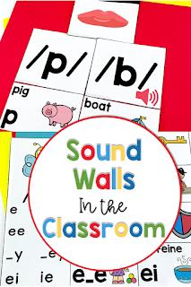 Sound walls in kindergarten