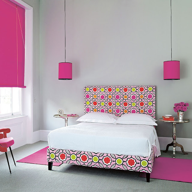 Minimalist Bedroom Design Pink