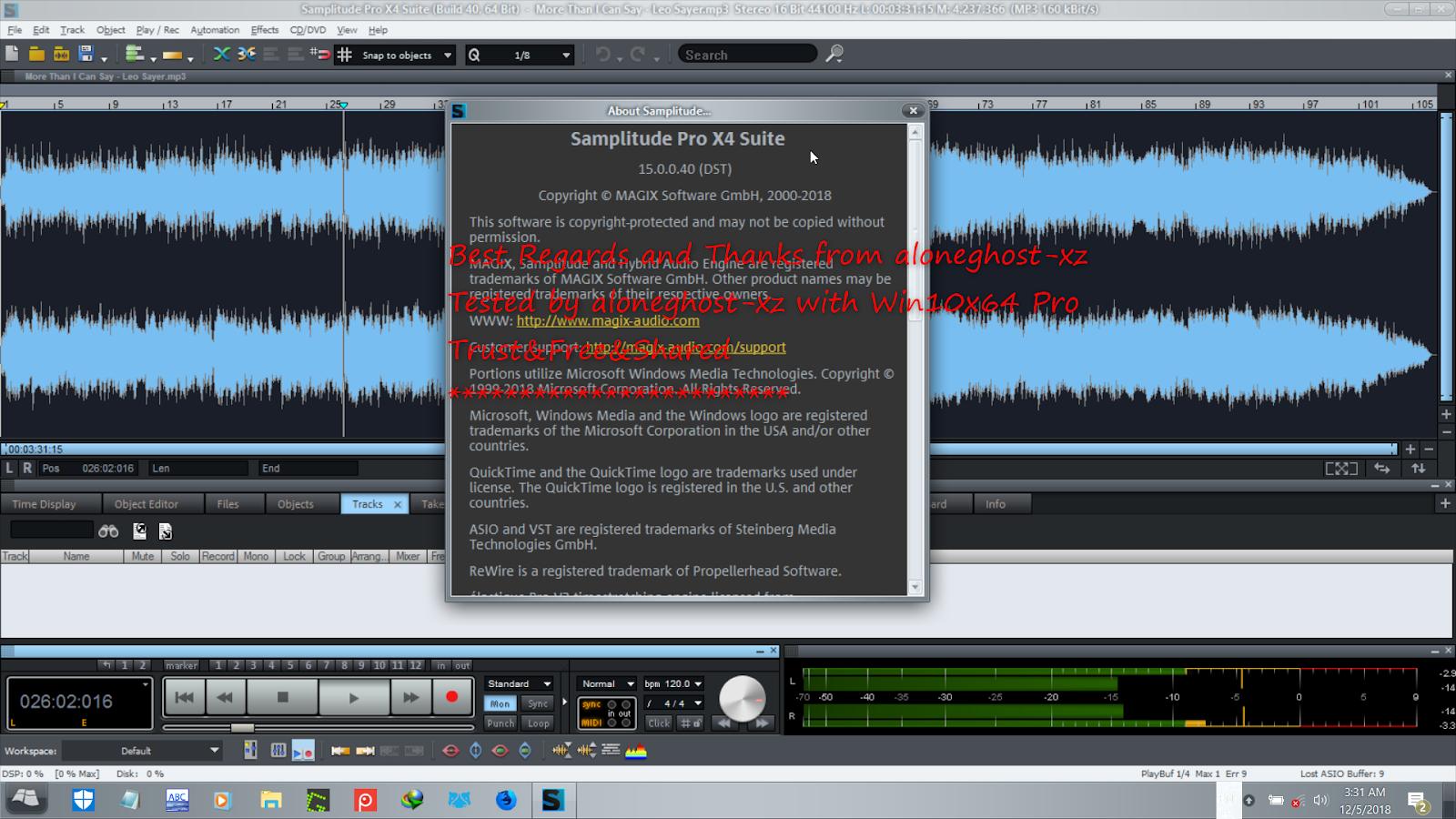 magix recording software free download