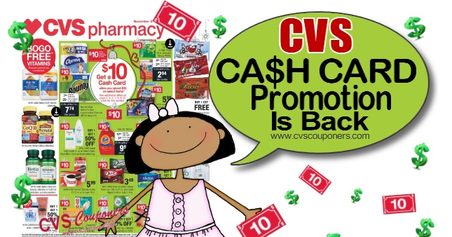 CVS Cash Card Promotion 2020