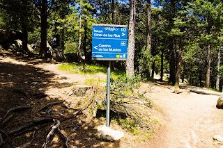 Boulder Collado Cabrón, Desvío hacia Collado (Cancho de los Muertos)