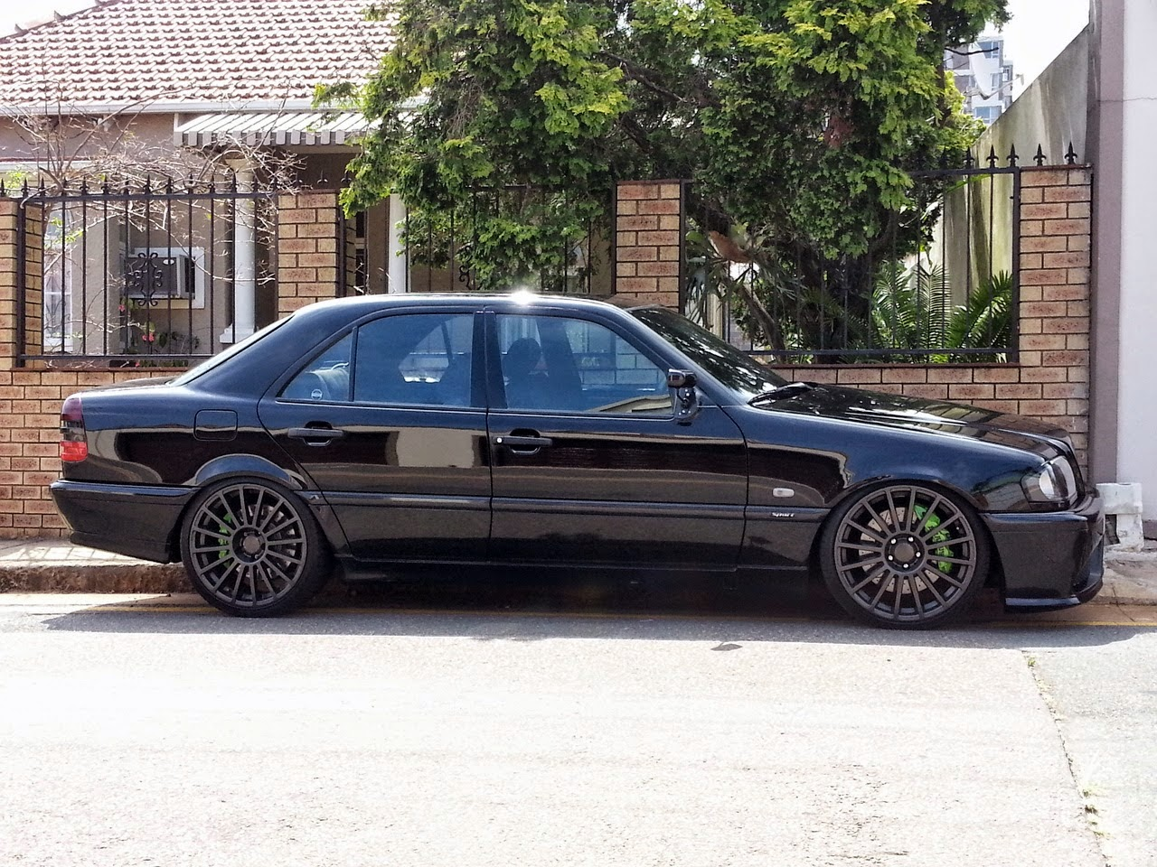 Exclusive Car Wallpapers Mercedes Benz W202 Turbo Shadowline Benztuning